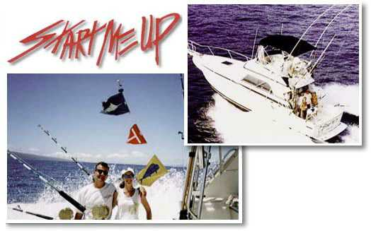 maui sportfishing aboard Start Me Up