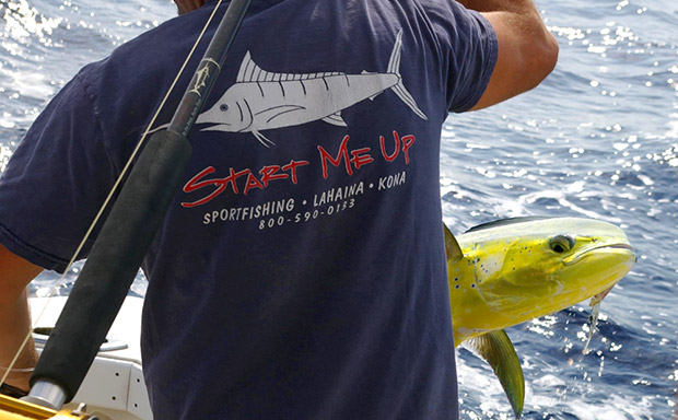 Start Me Up Sportfishing Shirt